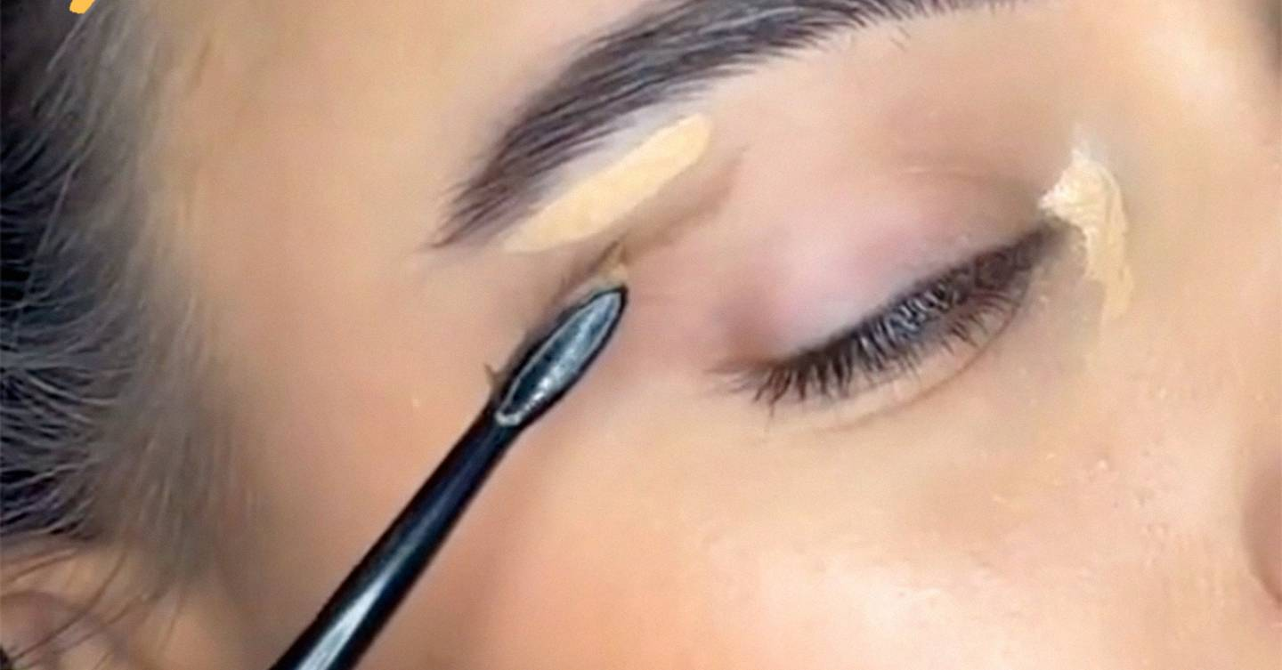 This TikTok hack to faking an eye lift will change your makeup routine forever