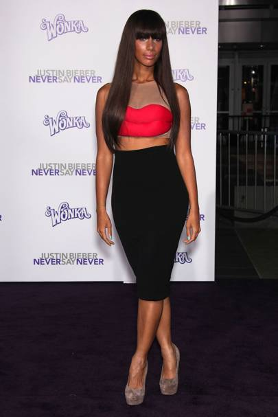 DON'T #20: Leona Lewis at the Justin Bieber: Never Say Never premiere, February