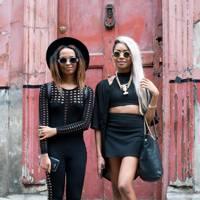Nyane and Mpho Lebajoa, Model and Fashion Blogger