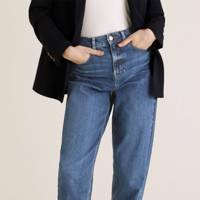 Best High-Waisted Mom Jeans: M&S