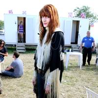 Florence Welch at Glastonbury