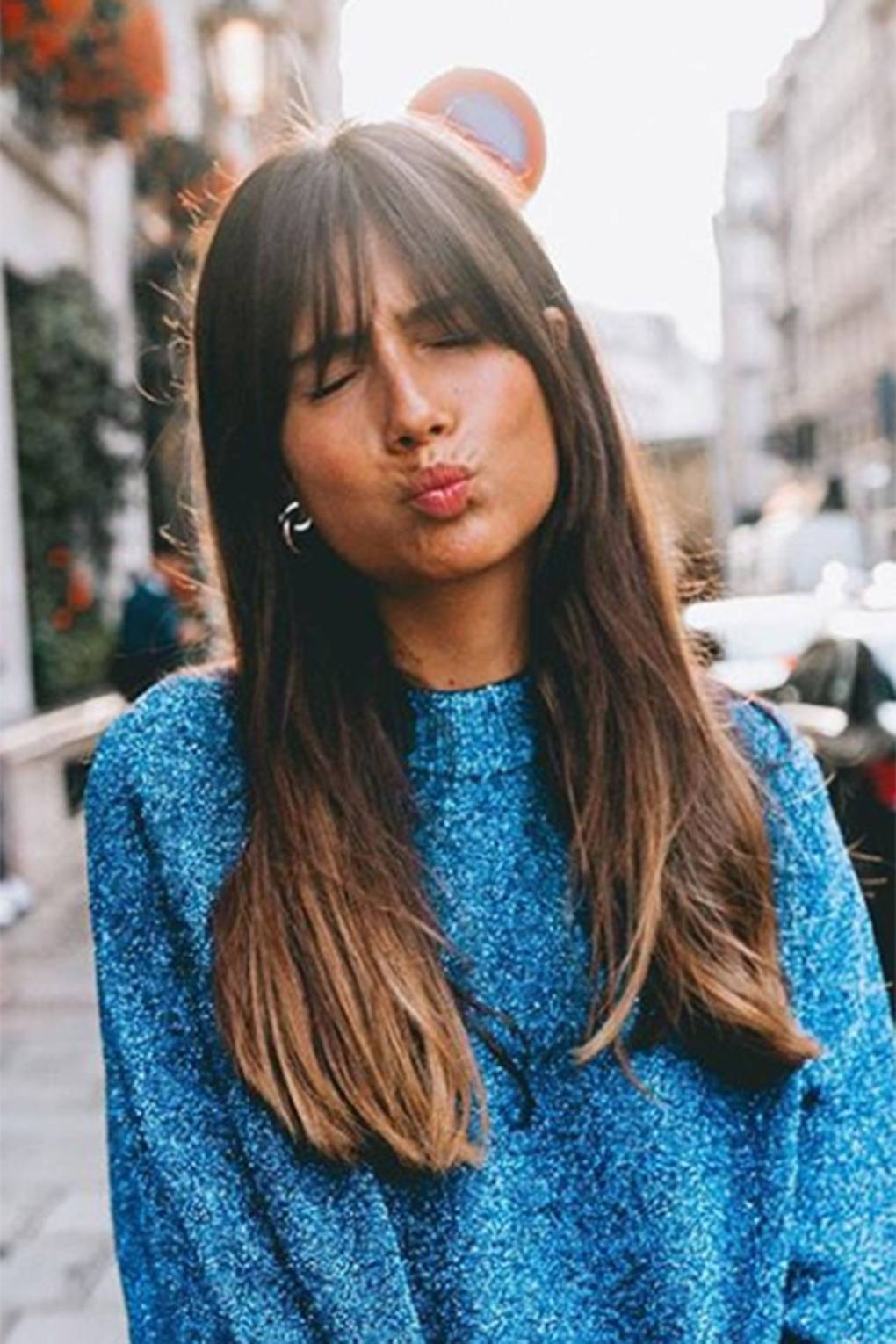 Fringe Hairstyles From Choppy To Side Swept Bangs Glamour Uk