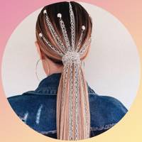 These new festival hair style ideas are giving us whole new goals for life