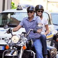 George Clooney & Stacy Keibler
