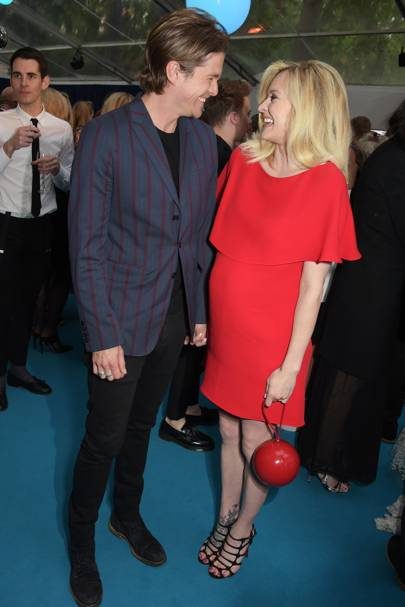 Jesse Wood and Fearne Cotton