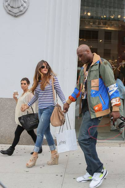 No 26: Khloe Kardashian & Lamar Odom