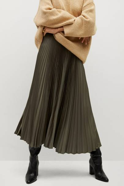 Mango Black Friday: The pleated midi