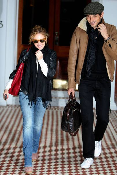 17. Kylie Minogue and Andres Velencoso