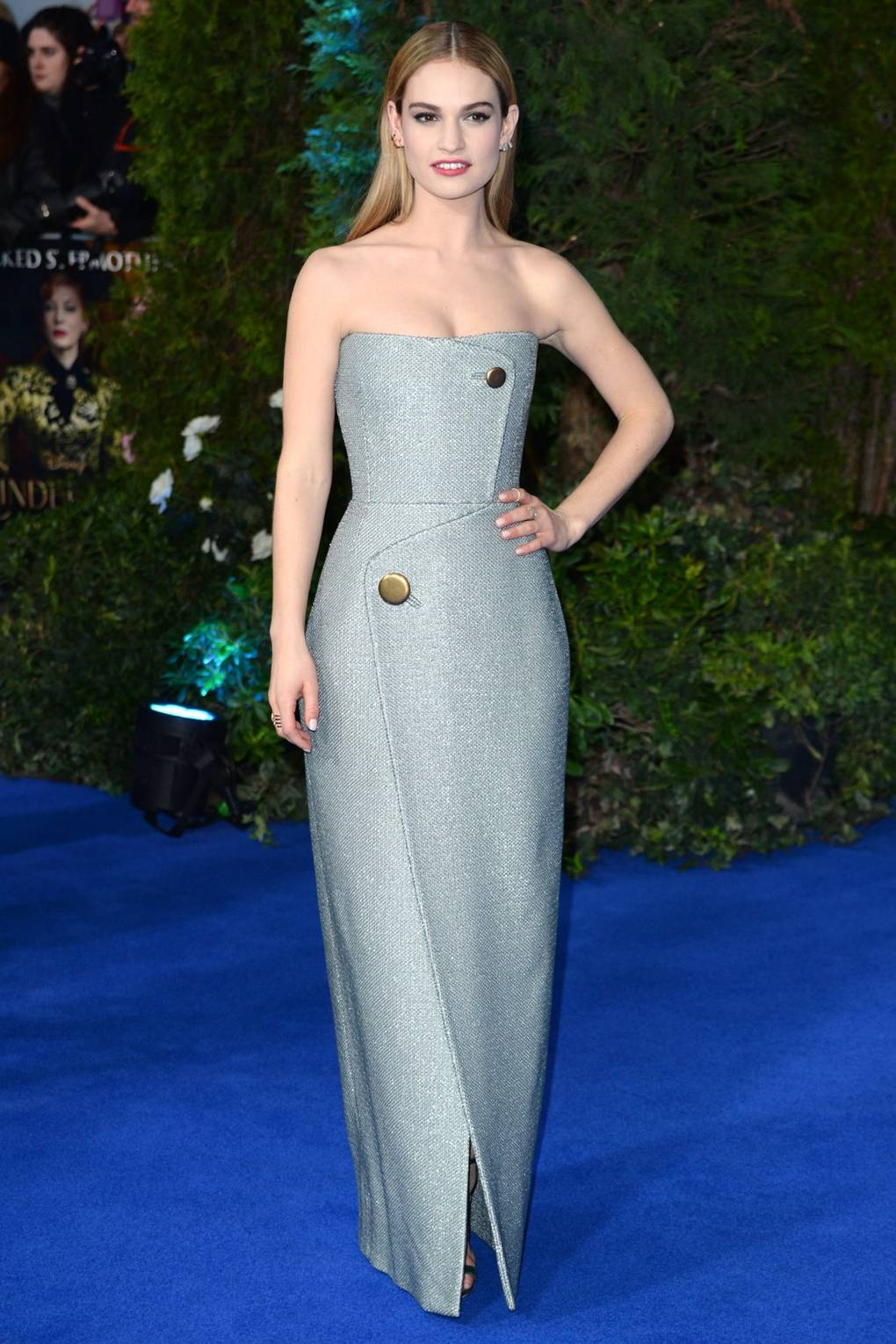 lily james red carpet style cinderella street outfits clothes ...