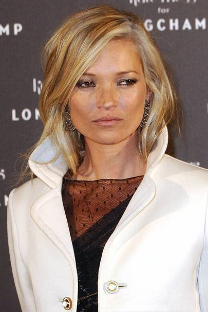 Kate Moss Goes Grey/blonde. While The Tabloids Slated Kate Moss For The  Ultra White Streaks She Was Sporting, We Showed Our Fashion Credentials By  ...