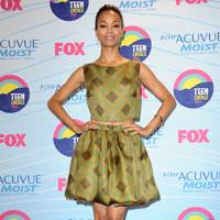 Zoe Saldana at the Teen Choice Awards 2012