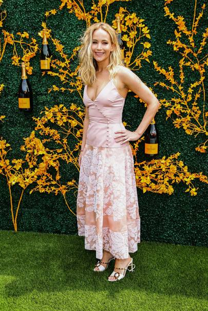 f2006cfa8 Jennifer Lawrence attends the 12th Annual Veuve Clicquot Polo Classic at  Liberty State Park on June 1