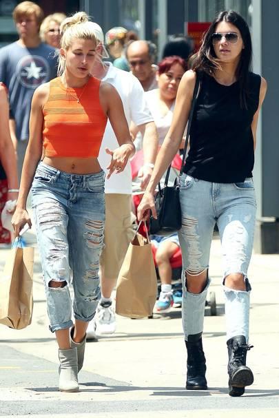 Hailey Baldwin & Kendall Jenner