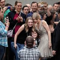 She REALLY loves her fans