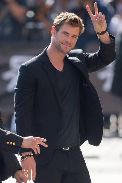 32. Chris Hemsworth