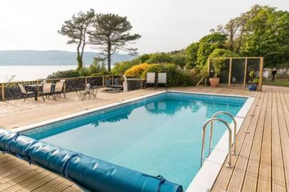 Best Scottish holiday home with pool
