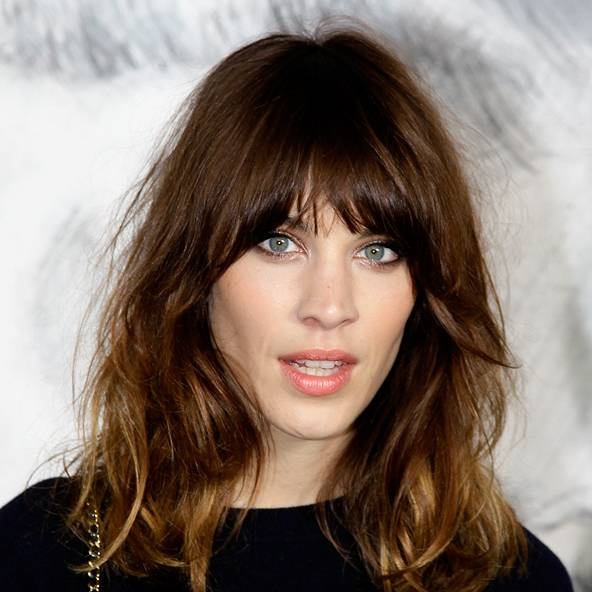 Tremendous Fringe Hairstyles 2016 Celebrity Amp Side Ideas Glamour Uk Short Hairstyles Gunalazisus