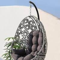 Hanging egg chairs outdoor
