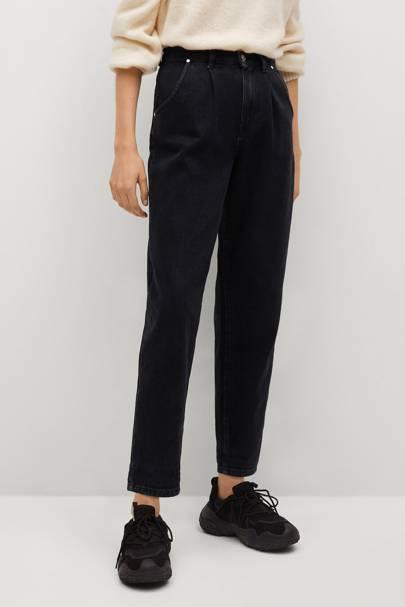 Best Black Jeans - Slouchy Shape