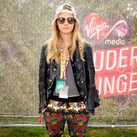 Cara Delevingne at V Festival
