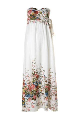 6152c553db White Floral Maxi, £59.90 at <a href=http://www.mango.com  target=_new>www.mango.com</a>