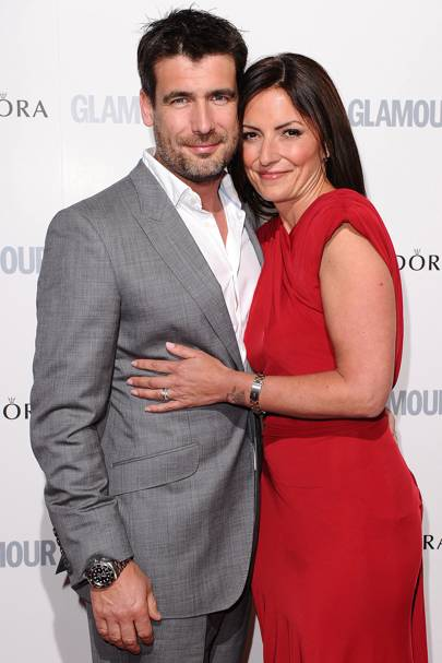 November: Davina McCall and Matthew Robertson