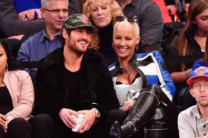 February: Amber Rose and Val Chmerkovskiy