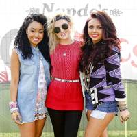 LittleMix at Nando's GigNics in London