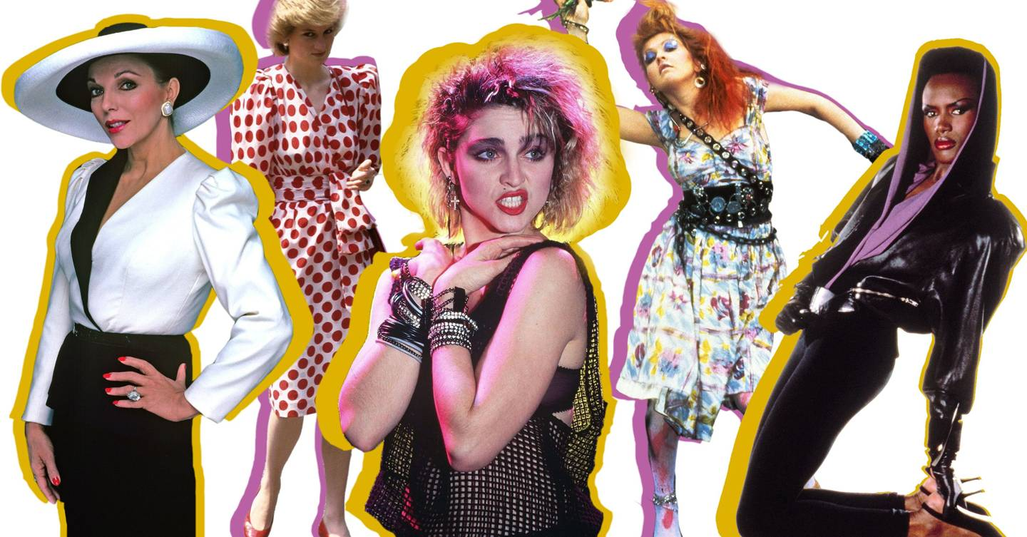 80s Fashion Music And Style The Icons Glamour Uk
