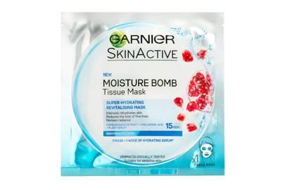 Garnier SkinActive Moisture Bomb Tissue Mask, Super-Hydrating Revitalising Mask