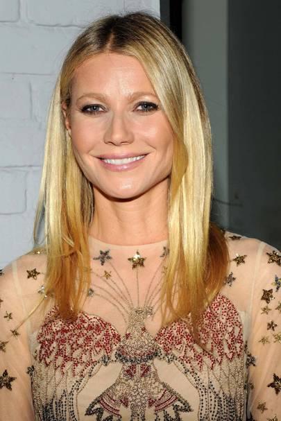 Gwyneth paltrow face shape