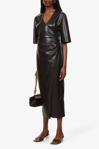 The Vegan Leather Dress