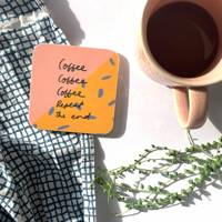 Coffee gifts: the coaster