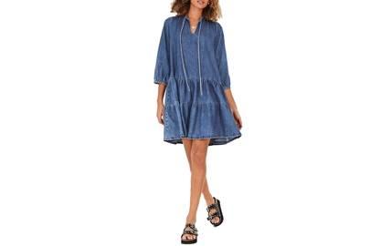Best Denim Dresses: Smock Denim Dress