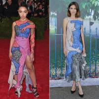 Lovers lace gown: FKA twigs or Alexa?