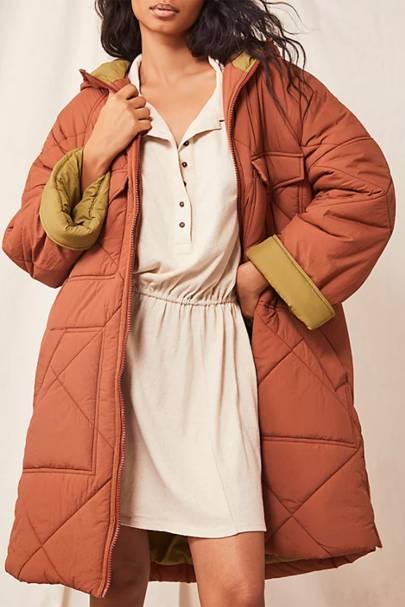 Duvet coat sale