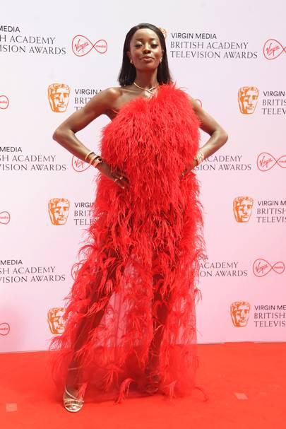 BAFTA TV Red Carpet: AJ Odudu