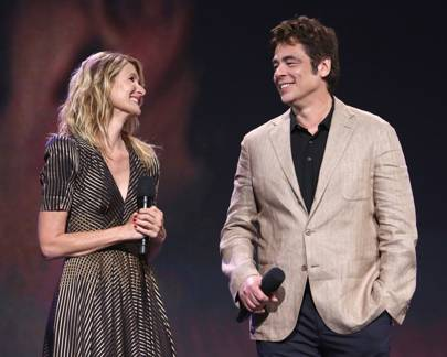 Laura Dern and Benicia Del Toro