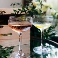 Gifts for her: the personalised cocktail coupes
