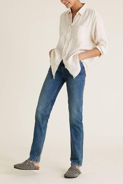 Best straight leg jeans: Sustainable cotton