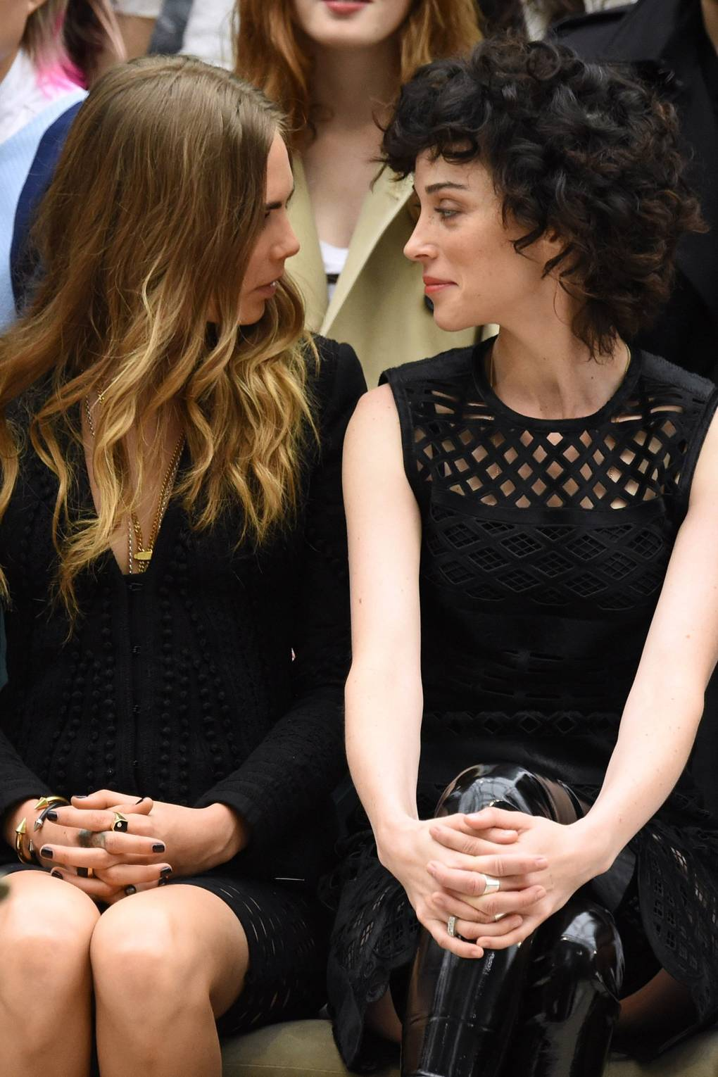 St vincent and cara delevingne dating history