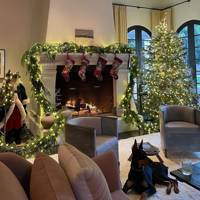 Kendall Jenner's traditional Christmas tree