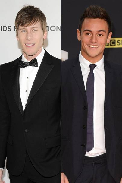December: Tom Daley & Dustin Lance Black