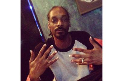 Snoop dogg and nail art pictures male nails trend glamour uk heynicenailsinstagram prinsesfo Image collections
