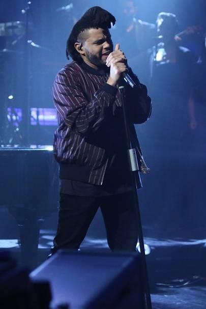 Surprising The Weeknd Short Haircut 2016 Cuts His Hair Glamour Uk Short Hairstyles Gunalazisus