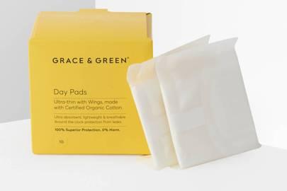 Eco-friendly sanitary towels