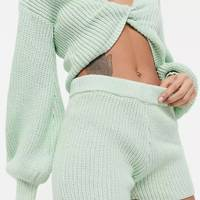 ASOS knitted shorts