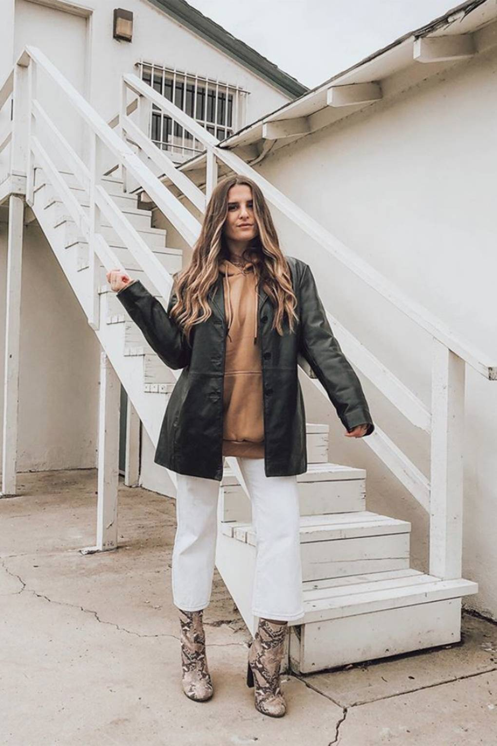 The Faux Leather Oversized Blazer From Zara Keeps Selling Out | Glamour UK