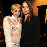 Jared Leto and Miley Cyrus