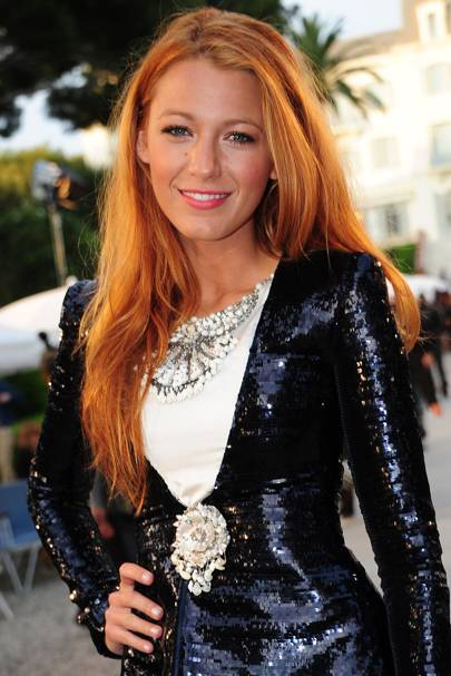 DO #13: Blake Lively's fiery mane – May